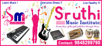 Sruthi Music Institute (SMi), Opp. ICICI Bank, Wanaparthy